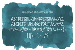 Mollysh Calligraphy Font Product Image 5