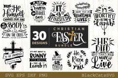 Christian Easter SVG bundle 30 designs Product Image 3