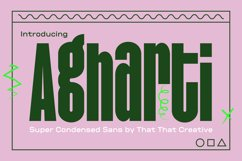 Agharti Bold Display Font Product Image 1