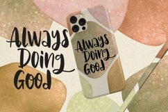 Web Font Aghnie - Handlettering Font Product Image 5