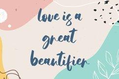 Web Font Agnessta - Cute Handwritten Font Product Image 2