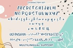 Web Font Agnessta - Cute Handwritten Font Product Image 6