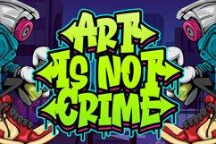 Airneo Graffiti Font Product Image 2