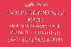 Alessandra - Beauty Handwritten Font Product Image 6