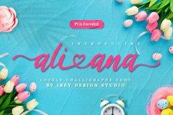 Ali Ana - Heart Font Product Image 1