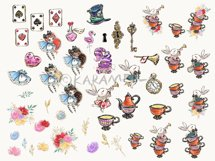 Alice in Wonderland Clipart Product Image 2
