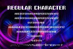 Alien Space - Regular and outline modern font Product Image 6