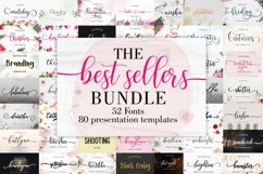 The Best Sellers Bundle | 52 Fonts Only $5 Product Image 1