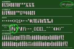 Agharti Bold Display Font Product Image 4