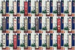 Mega Bundle | 21 Porch SVG Signs | Vintage Vertical Designs Product Image 5