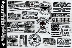 All American SVG Bundle Product Image 1
