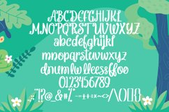 Allecia - Handrawn Holiday Font Product Image 3