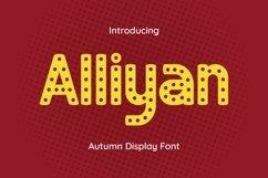 Web Font Alliyan Product Image 1