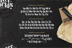 Web Font Allred Font Product Image 4