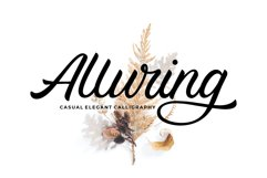 Alluring Calligraphy Fonts Product Image 1