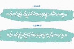 Alonelast Signature Script Font Product Image 2
