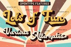 Alvardo - Retro Bold Script - Latest Trending Vintage Font Product Image 2