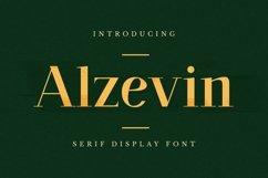 Web Font Alzelvin Font Product Image 1