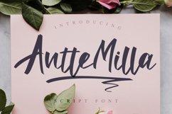 Antte Milla - Elegant Script Font Product Image 1
