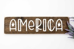 FOURTH OF JULY Font Product Image 2