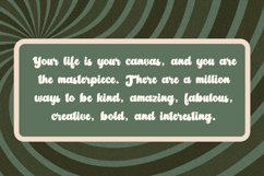 Amberlion Groovy Diplay Script Font Product Image 2