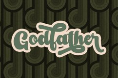 Amberlion Groovy Diplay Script Font Product Image 3