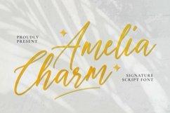 Web Font Amelia Charm Font Product Image 1