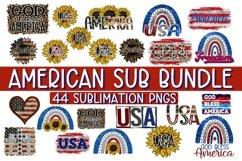 AMERICAN SUBLIMATION BUNDLE - 44 DESIGNS - PNG 300 DPI Product Image 2