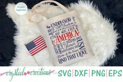 America 4th of July Subway Art SVG, DXF, PNG, EPS Product Image 5