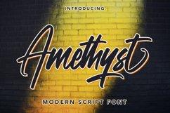 Amethyst - Modern Script Font Product Image 1