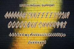 Web Font Amethyst - Modern Script Font Product Image 6