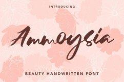 Web Font Ammoysia - Beauty Handwritten Font Product Image 1