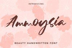 Ammoysia - Beauty Handwritten Font Product Image 1