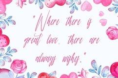 Web Font Anastasi - Lovely Calligraphy Font Product Image 5