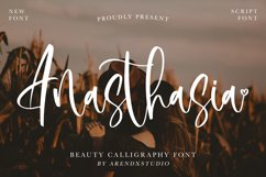 Anasthasia - Beauty Calligraphy Font Product Image 1
