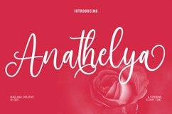 Anathelya Feminine Script Font Product Image 1