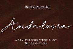 Andalusia -signature font Product Image 1