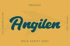 Web Font Angilen Font Product Image 1
