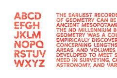 Cut Angles Font Product Image 2