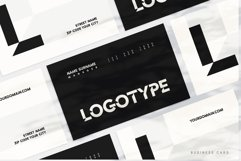 Cut Angles Font Product Image 6