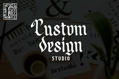 Web Font Angleders - Blackletter Font Product Image 2