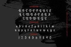 Web Font Angleders - Blackletter Font Product Image 3