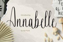 Web Font Annabelle Font Product Image 1