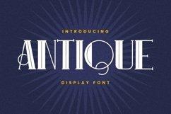Web Font ANTIQUE Font Product Image 1