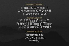 Web Font Anymore Font Product Image 4