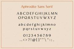 Aphrodite Sans Serif Font Product Image 6