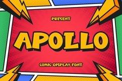 Web Font Apollo - Comic Display Font Product Image 1