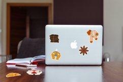 Coffee printable stickers bundle PNG, EPS, JPG. Product Image 4