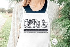 Frosty's Snowflake Cafe SVG | Christmas / Winter Design Product Image 5