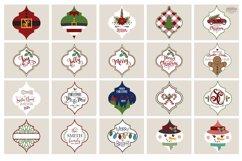 Arabesque Tile Christmas Ornament SVG Bundle Product Image 2